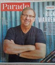 Giving Sunday Parade Magazine December 1 2013 Rick Warren, The Daniel Plan - $3.87