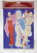 Tom Tierney's Millennium Paper Doll NEW 1999 1 Die Cut Doll, 8 Costumes,... - $6.98