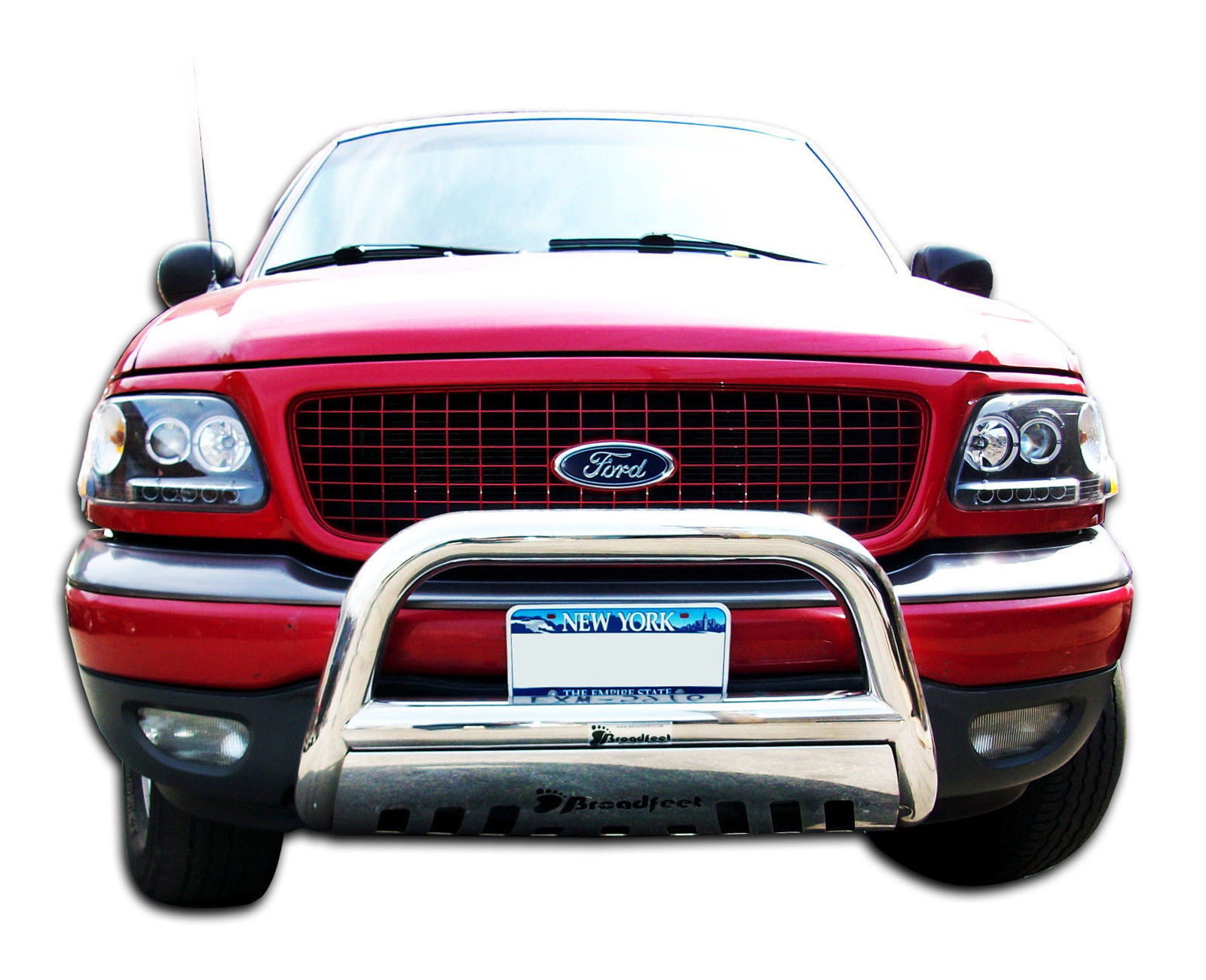 Ford Expedition Bumper Guard : Broadfeet bull bar front bumper guard for ford