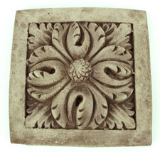 Flower Concrete Wall Plaque - $36.00