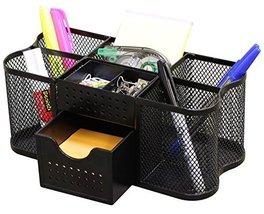 Office Supplie Desk Accessorie DecoBros Supplies Organizer Caddy Black - $18.26