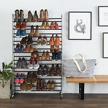 Home Organization Shoe Organizer Basics 50Pair ... - $55.70