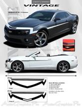 2010-2013 Chevy Camaro VINTAGE Decals 3M Pro Vi... - $108.83