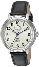 Orient Men's 'Monarch' Mechanical Hand Wind Stainless Steel and Leather Dress... - $307.49