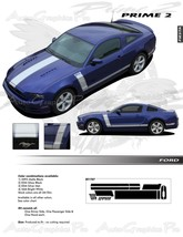 Ford Mustang 2013-2014 PRIME 2 Decals Stripe 3M... - $153.83
