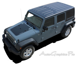 Vinyl Graphics OUTFITTER Stripes 3M Hood Decals... - $126.63