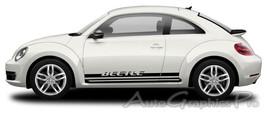 Volkswagen Beetle 'Rocker Two' Decals VW Bug 3M... - $78.80