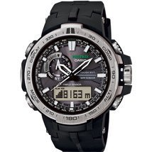 Watch Casio Pro Trek Prw-6000-1er Mens Black - $669.25