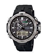 Watch Casio Pro Trek Prw-6000-1er Mens Black - £513.12 GBP