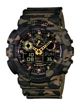 Casio Men's G-Shock GA100CM-5A Multi Resin Quartz Watch - $189.15