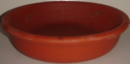 "7.5"" Shallow Clay Pot ~ ~ Used - $1.50"