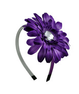 Purple Daisy Flower Headband - $5.75