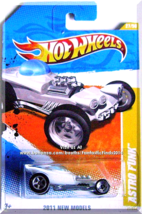 Hot Wheels - Astro Funk: 2011 New Models #27/50 - #27/244 *White Edition* - $3.00