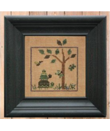 Green #4 World of Color Snapper Series cross stitch chart Bent Creek  - $6.75