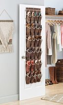 Zober Over the Door Shoe Organizer 24 Breathabl... - $20.76