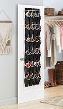 Zober Over the Door Shoe Organizer 24 Breathabl... - $20.79