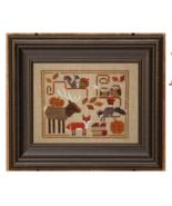 Oodles of Autumn w/button cross stitch chart Bent Creek  - $9.90