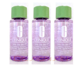Clinique Take the Day Off Makeup Remover 5.1oz - Travel Size Set (3 x 1.7oz ea)