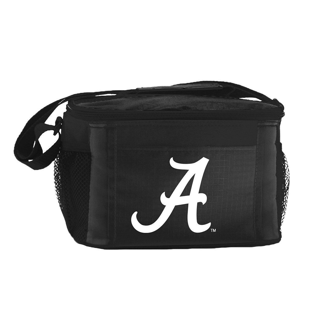 ALABAMA CRIMSON TIDE LUNCH TOTE 6 PK BEER SODA TEAM LOGO KOOLER BAG NCAA