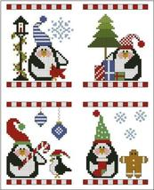 Merry & Bright cross stitch chart Plum Pudding Needleart  - $7.20