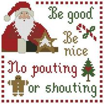 Santa's Clause christmas cross stitch chart Plu... - $6.30