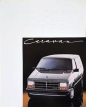 1987 Dodge CARAVAN sales brochure catalog US 87 SE LE - $6.00