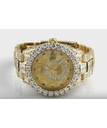 26 ct.fully cover diamond yellow gold rolex wat... - $56,319.12