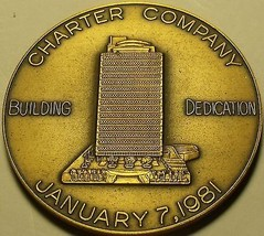 Massive Bronze Charter Company Building Dedication Medallion~Fortune 500... - $43.20