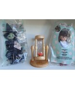 NIP Wizard of Oz Dorothy Witch West McDonalds NIB Rotating Wood Glass Sa... - $34.99
