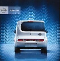 2012 Nissan CUBE sales brochure catalog US 12 1.8 S SL Indigo - $8.00