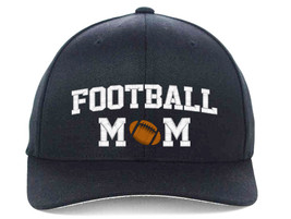 FOOTBALL MOM Embroidered, Flexfit Hats - $19.99