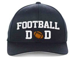 FOOTBALL DAD Embroidered, Flexfit Hats - $19.99