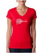 Marca PERU New National LOGO, Women V-Neck Tshirt - $13.99+