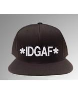 IDGAF,I Don't Give a F**K,  Snapback - $19.99