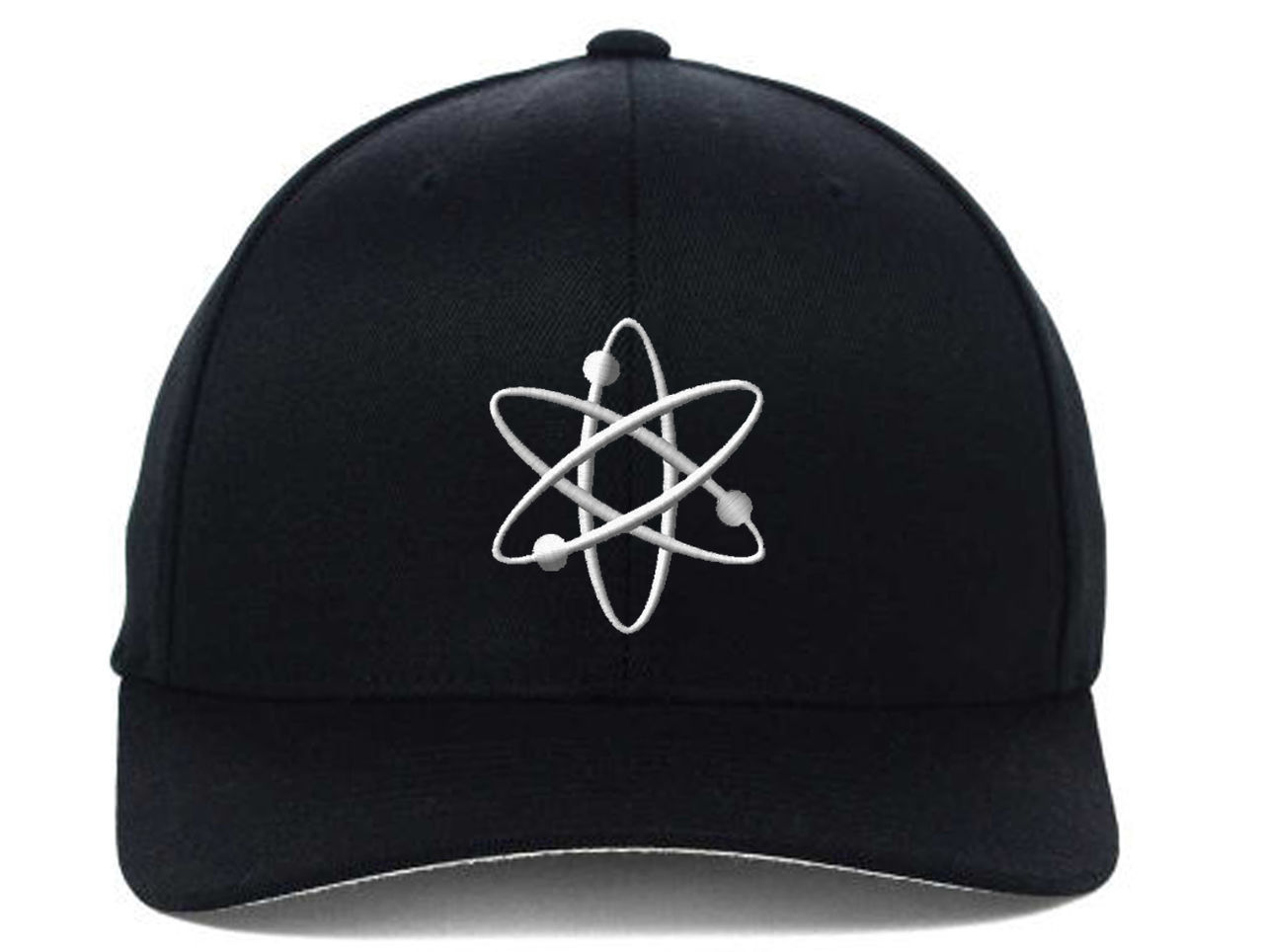 ATOM Atomic Energy Embroidered, Flexfit Hats