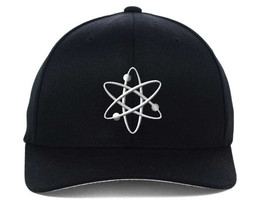 ATOM Atomic Energy Embroidered, Flexfit Hats - $19.99