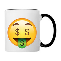 Money Tounge EMOJI 11oz. Coffee Mug - £14.98 GBP