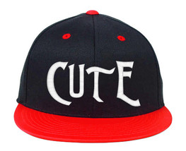 Cute CUTE Embroidered, Snapback Hats - $19.99