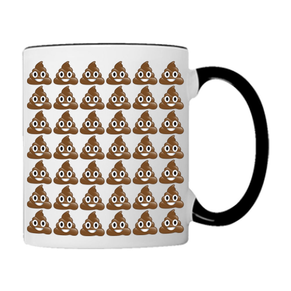 POO Poop Everywhere EMOJI, 11oz. Coffee Mug