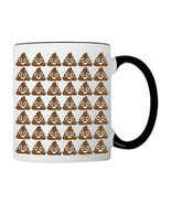 POO Poop Everywhere EMOJI, 11oz. Coffee Mug - $26.36 CAD