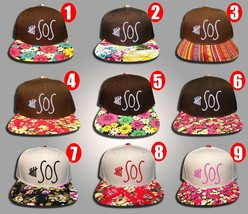 5 Seconds of Summer, FLoral Colors, Snapback Hat - $19.99