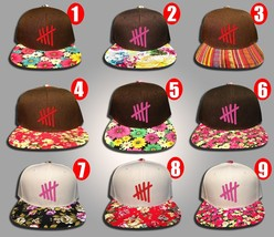 5 Seconds of Summer, 5 SOS, FLoral Colors, Snapback Hat New - $19.99