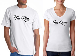 The KING & His QUEEN, Men's and Women's Tshirts - $18.55+