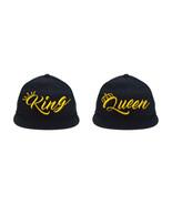 King & Queen NEW Design, 2 Snapbacks, Couple Hats - $19.99