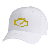 Check Engine Light Flexfit, Fine Finished Embroidery Hats - $19.99