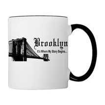 Brooklyn, It's Where My Story Begins Coffee Mug - £14.98 GBP