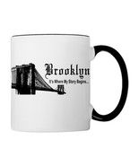 Brooklyn, It's Where My Story Begins Coffee Mug - €17,68 EUR