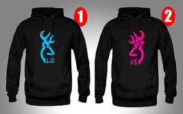 Browning, Perfect Couple, 2 Hoodies - $49.99