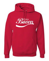 Enjoy Bacon, Pullover Hooded Hoodie - $29.99