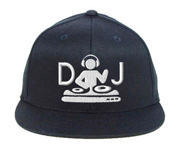 DJ Turntable, Embroidery Snapback Hat - $19.99